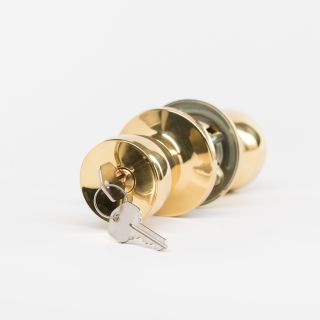 5600 POL.BRASS LOCKSET (Each)