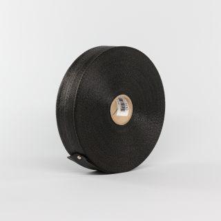 VINYL STRAP 1.75X300' BLACK (Each)