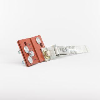 CORNER TIE W/STRAP & RADIUS CLIP - 7' STRAP (Each)